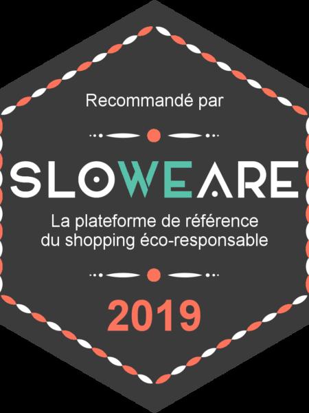 SloWeAre badge