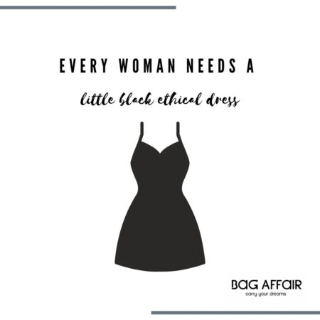 Every woman needs a little black ethical dress